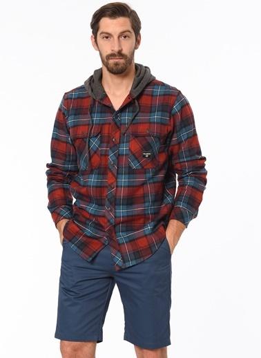 Kapüşonlu Uzun Kollu Oduncu Gömlek-Billabong